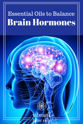 essential oils for brain hormones, girl head x-ray